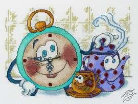 Clock - Tea Time by RTO - M40001