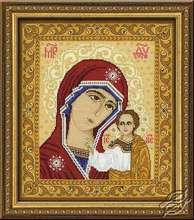 Icon - Our Lady of Kazan by RIOLIS - 1038