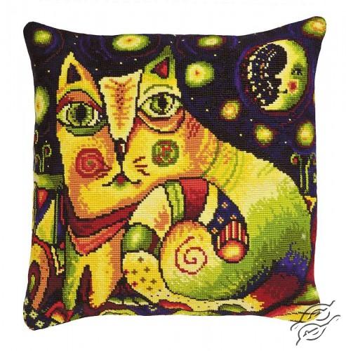 Cushion - The Moonlit Road by RIOLIS - 1092