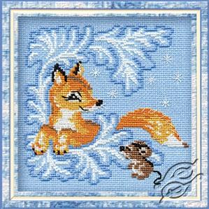 The Fox-cub by RIOLIS - 797