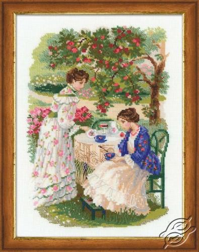 Russian manor - Tea under an apple-tree by RIOLIS - 1140