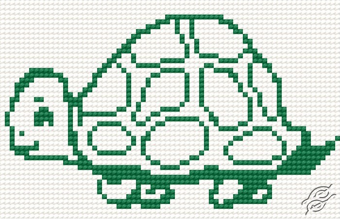 A Small Tortoise by HaftiX - patterns - 00177