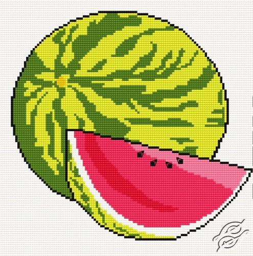Water Melon by HaftiX - patterns - 00192