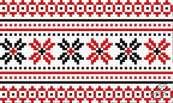 Ukrainian Embroidery - Ornament 98 by HaftiX - patterns - 00098