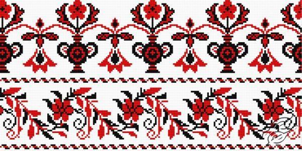 Ukrainian Embroidery - Ornament 99 by HaftiX - patterns - 00099