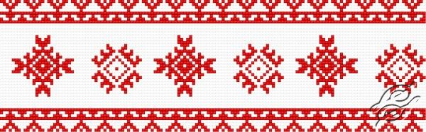 Ukrainian Embroidery - Ornament 102 by HaftiX - patterns - 00102