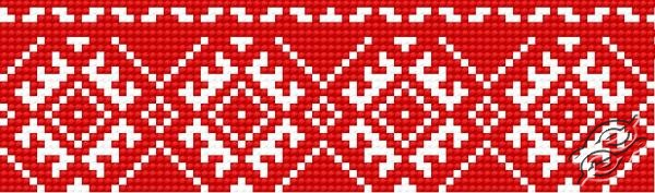 Ukrainian Embroidery - Ornament 104 by HaftiX - patterns - 00104
