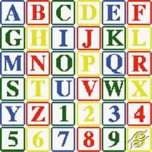Alphabet I by HaftiX - patterns - 00193