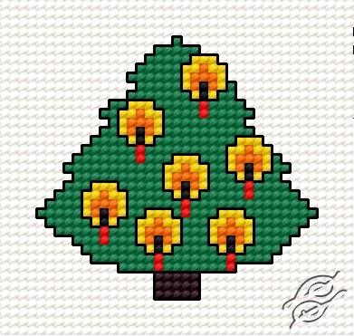 Christmas Tree I by HaftiX - patterns - 00256