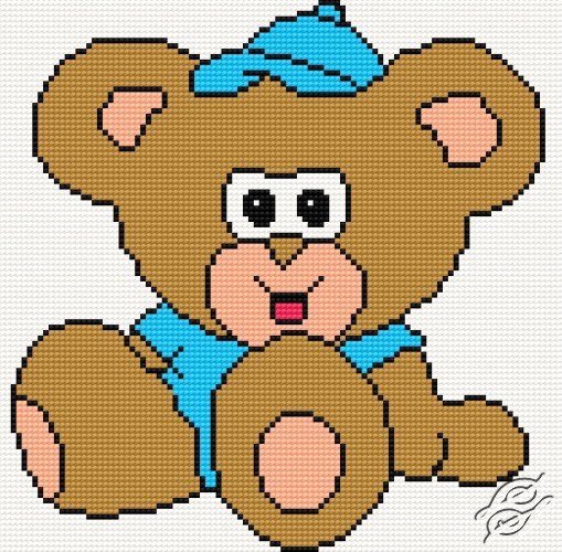 Teddy-Bear by HaftiX - patterns - 00257