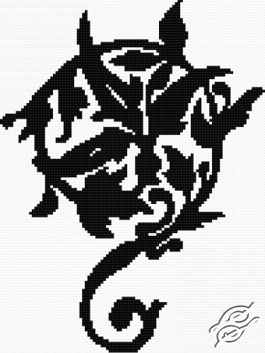 Flower Pattern II by HaftiX - patterns - 00165