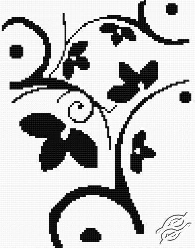 Flower Pattern III by HaftiX - patterns - 00167