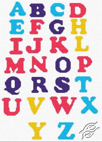 Alphabet II by HaftiX - patterns - 00220