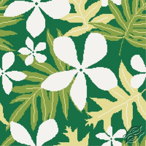 Flower Pattern IV by HaftiX - patterns - 00263