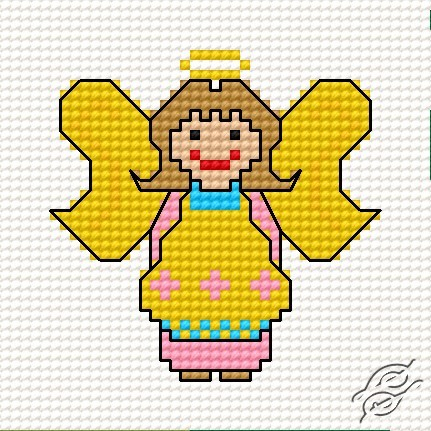A Small Angel by HaftiX - patterns - 00264
