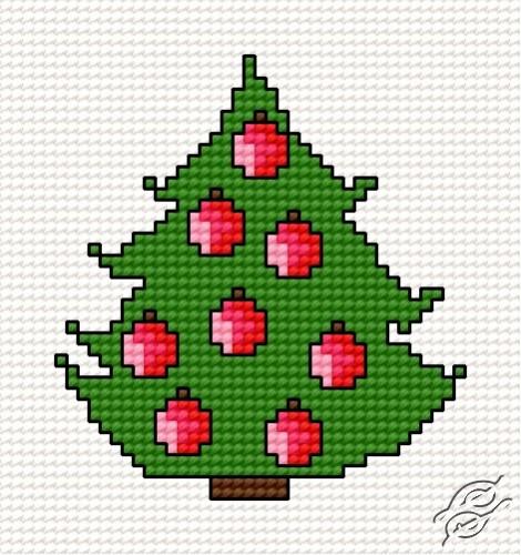 Christmas Tree III by HaftiX - patterns - 00266
