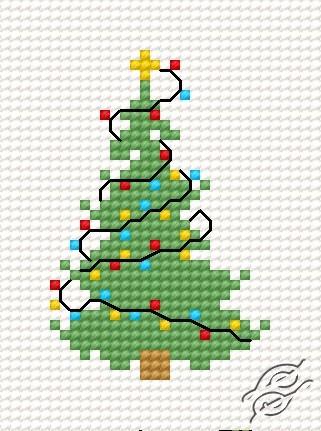 Christmas Tree IV by HaftiX - patterns - 00269