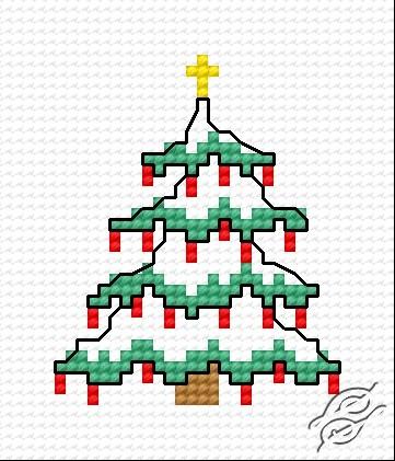 Christmas Tree VI by HaftiX - patterns - 00271