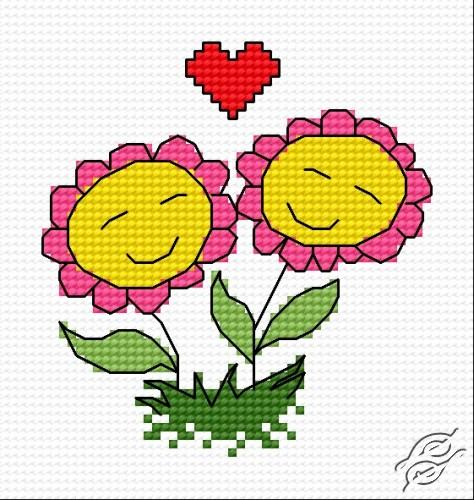 Flowers In Love by HaftiX - patterns - 00296