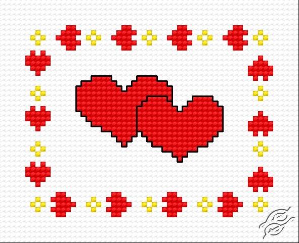 Hearts I by HaftiX - patterns - 00301