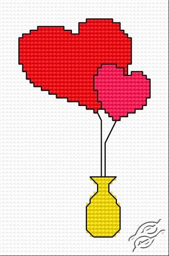 Hearts II by HaftiX - patterns - 00302