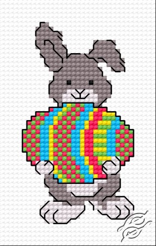 Easter Bunny III by HaftiX - patterns - 00306