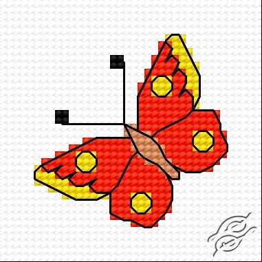Butterfly by HaftiX - patterns - 00315