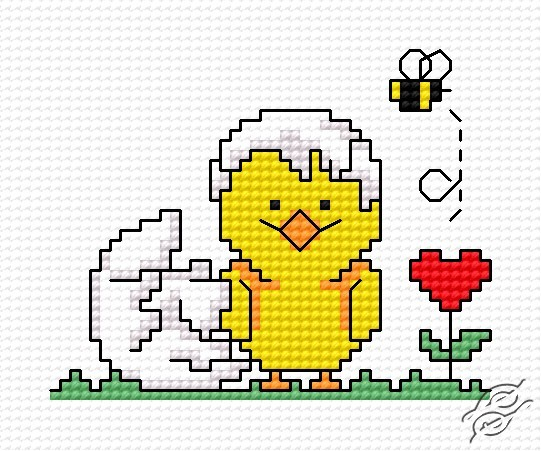 Easter Chick II by HaftiX - patterns - 00317