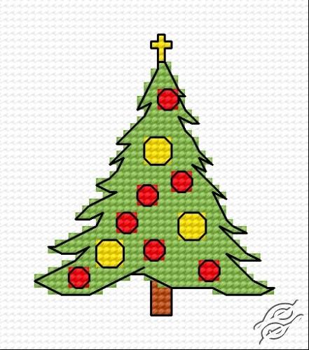 Christmas Tree VII by HaftiX - patterns - 00328