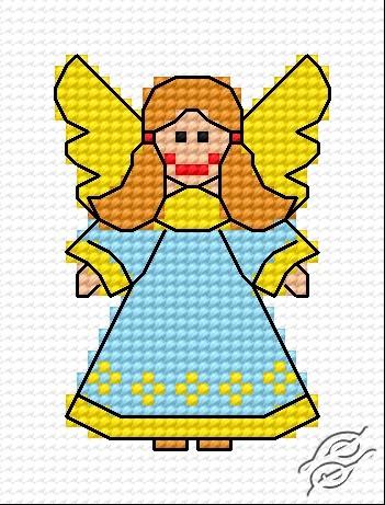 A Small Angel III by HaftiX - patterns - 00336