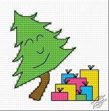 Christmas Tree VIII by HaftiX - patterns - 00337