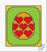 Easter Egg I by HaftiX - patterns - 00364