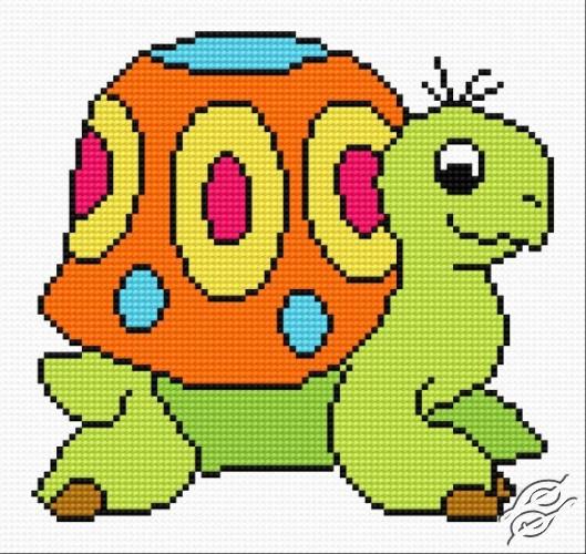 Tortoise Gucio by HaftiX - patterns - 00371