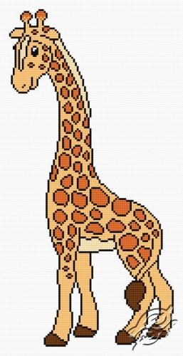 Giraffe Henia by HaftiX - patterns - 00372