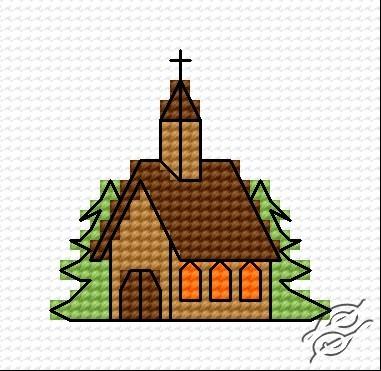 A Small Church by HaftiX - patterns - 00376