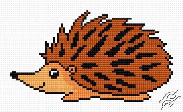 A Small Hedgehog by HaftiX - patterns - 00378