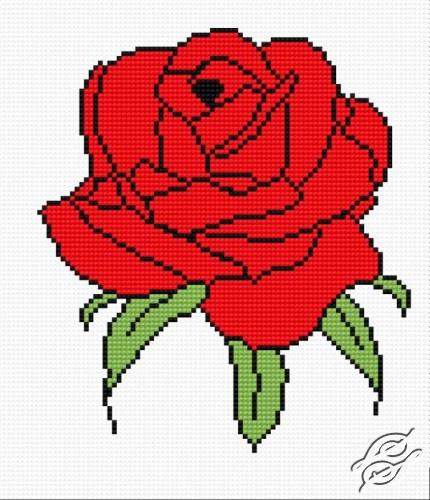 Rose by HaftiX - patterns - 00379