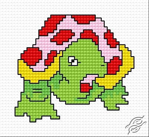 A Tortoise by HaftiX - patterns - 00425