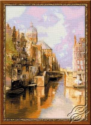 The Oudezijds Voorburgwal Amsterdam by RIOLIS - 1190