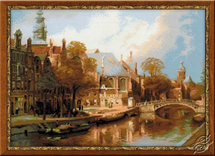 The Oude Kerk and St.Nicolaaskerk, Amsterdam by RIOLIS - 1189
