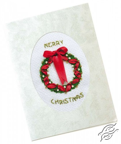 Marry Christmas Card by RIOLIS - 1191