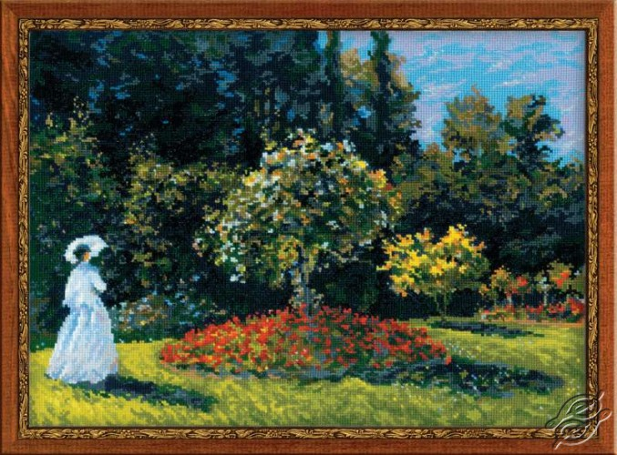 Lady In The Garden by RIOLIS - 1225