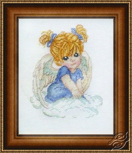 Angel in Blue by Alisena - 1002