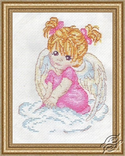 Angel in Pink by Alisena - 1003
