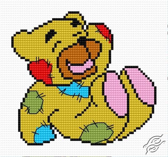 Old Teddy-Bear by HaftiX - patterns - 00426