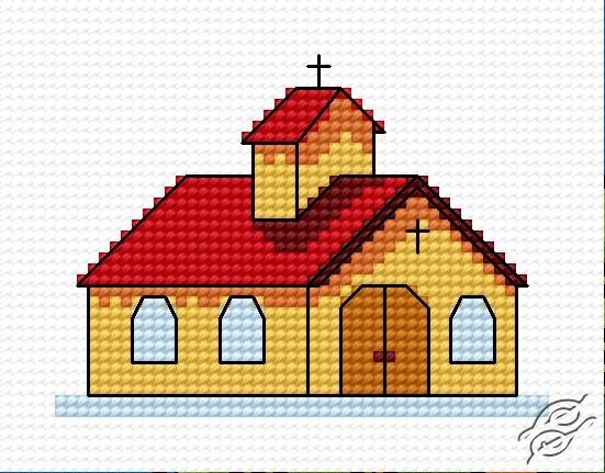 A Small Church II by HaftiX - patterns - 00429