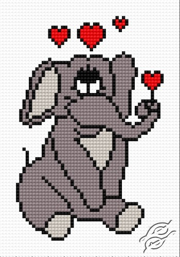 A Small Elephant In Love by HaftiX - patterns - 00476