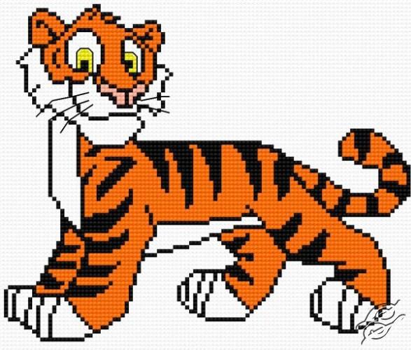 A Small Tiger II by HaftiX - patterns - 00493