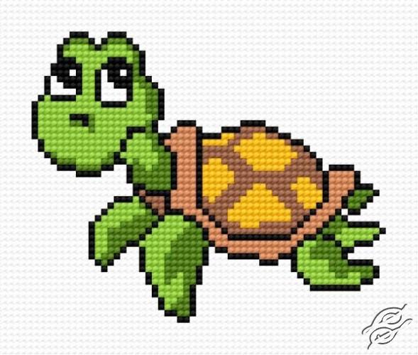 Small Tortoise by HaftiX - patterns - 00499
