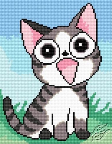 A Sweet Cat by HaftiX - patterns - 00503